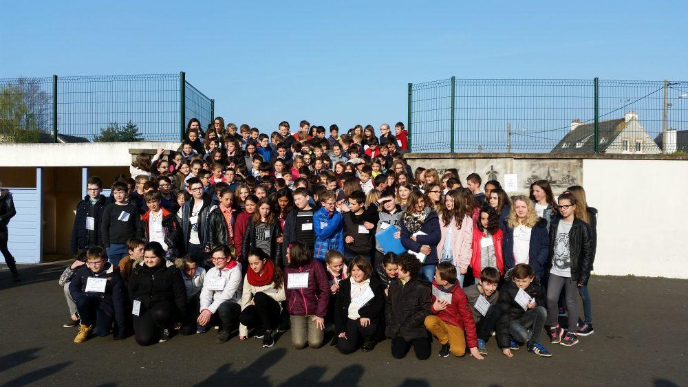 Les CM1/CM2 au collège Saint-Yves de Tréguier