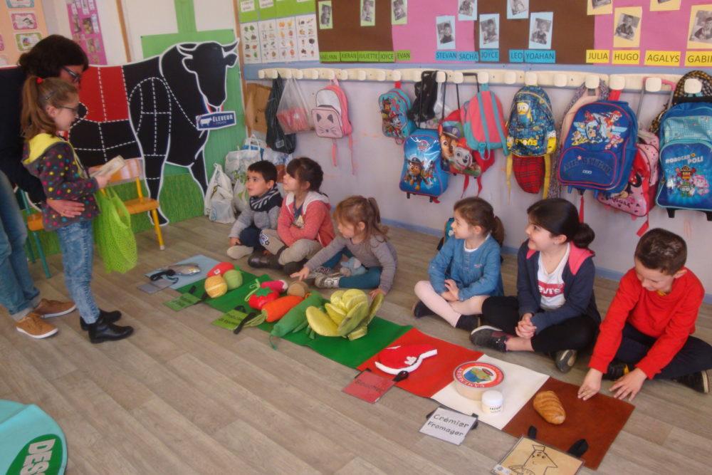 Valorys à l'école Saint-Georges